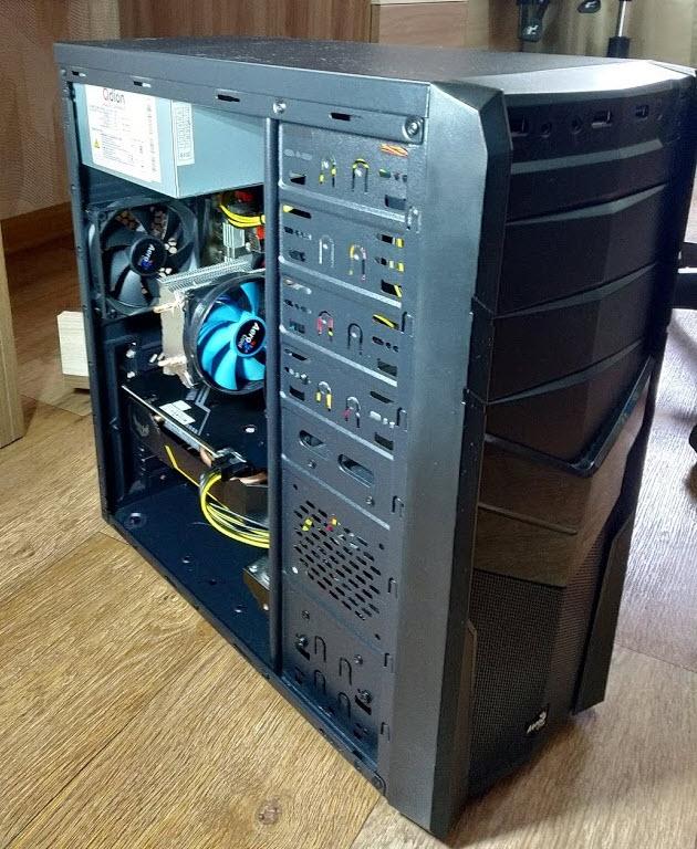 Собрал игровой компьютер для сына за 30 тысяч рублей