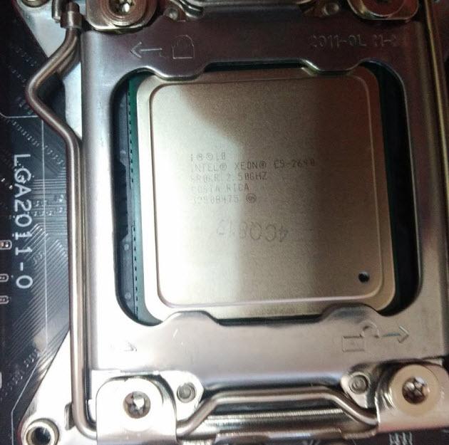 Процессор Xeon E5 2640