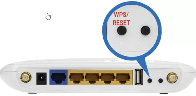 WPS кнопка tplink